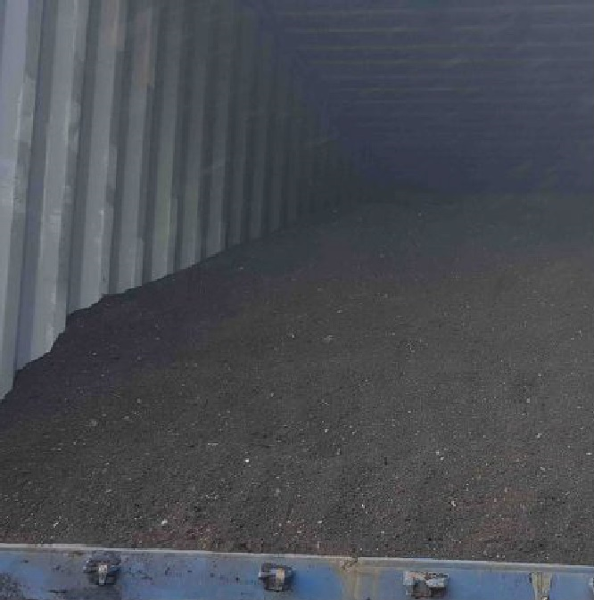 Millscale Load in Container